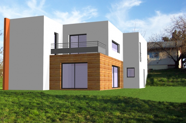 Projet maison individuelle st chamond orientation et for Projet maison individuelle