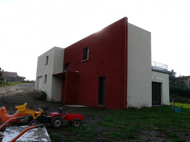 Projet maison individuelle st chamond orientation et for Garage triolaire st chamond